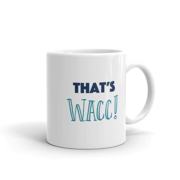 White Finance Mug - That's WACC!